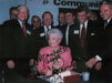 Governor Ann Richards signing