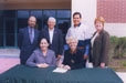 Signing Articulation agreement