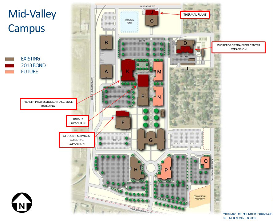 South Texas College Pecan Campus Map Mid Valley Campus – Weslaco | South Texas College